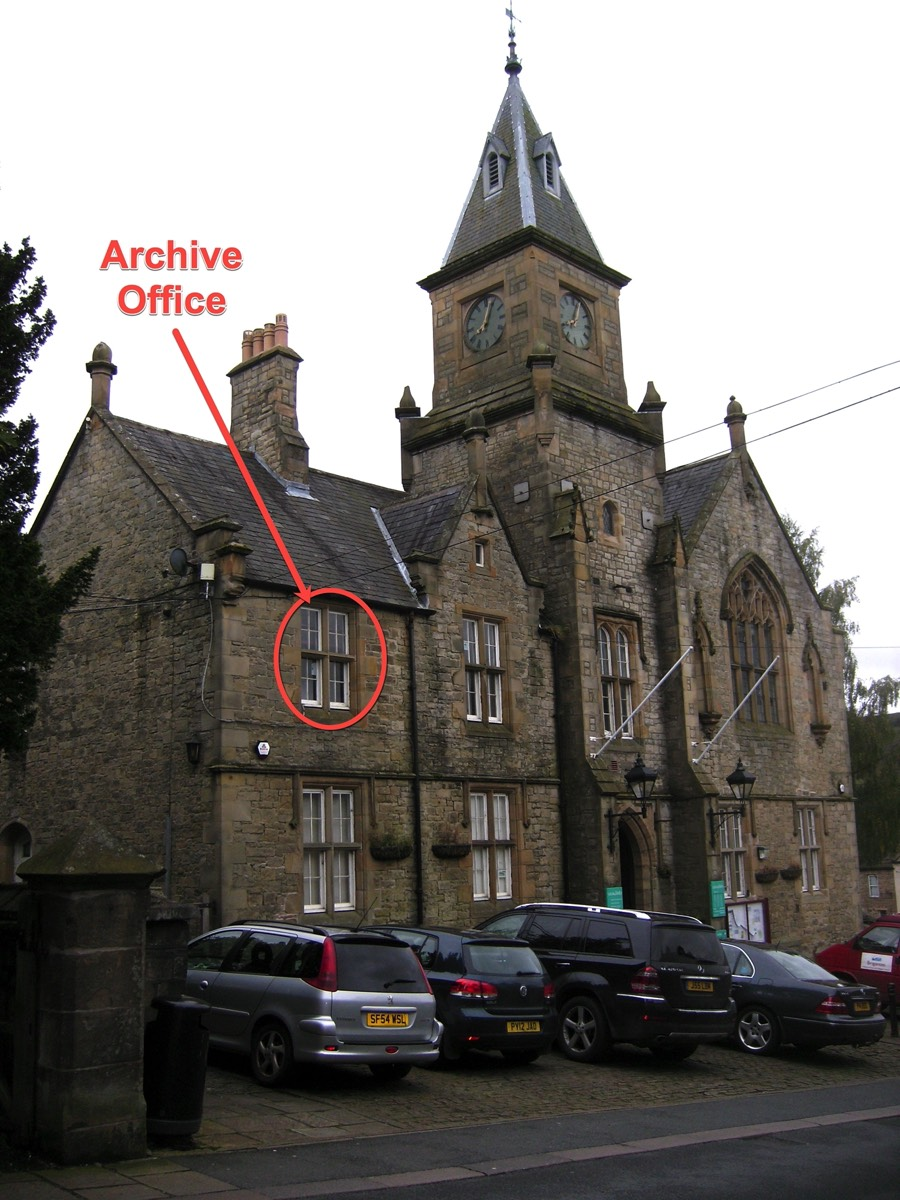 Alston Town Hall Archives